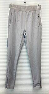 Boohoo MAN Active Textured Colour Block Pant Gray Size M - NWT