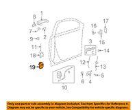 GM OEM-Door Hinge-Lower Right 23436138