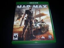 Replacement Case (NO GAME) MAD MAX XBOX ONE 1 - 100% Original