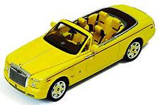 Rolls-Royce Phantom Drophead Coupè Serie II Bijan Edizione Limitata giallo 1:43