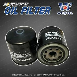 Wesfil Oil Filter for Tata Xenon 2.2 4Cyl 16V Turbo Diesel 11/2013-On