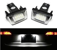 Iluminación Placa LED Peugeot 306 Blanco Xenonfeux Traseras Registro