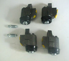 (x4) MINI Front Brake Wheel Cylinders Set   (FRONT DRUM BRAKES)      (1969- 84)