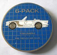 Car Badge -6Pack triumph car grill badge emblem logos metal enamled car badge