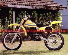 SUZUKI RM 125 1975 Fiche Moto 000102