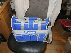 "Cobalt  Tool Storage Bag. New Without Tags 14""x 12""x 9"" Nice"