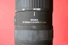 Lente Sigma 50-500 Montaje Olympus 4/3