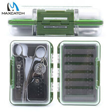 Maxcatch Fly Fishing Box/Tool Kit, with 4 Pieces Essential Fly Fishing Tools