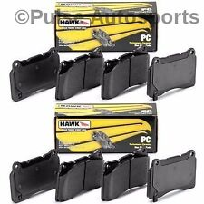Hawk Ceramic Brake Pads (Front & Rear Set) For 2006 - 2009 VW Rabbit