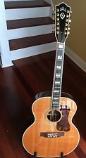 PRICE DROP - Guild F512 Approx Yr 2003 Natural, Excellent Cond w/Electronics