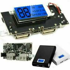 Dual USB 5V 1A 2.1A Mobile Power Bank 18650 Battery Charger PCB Module Board s