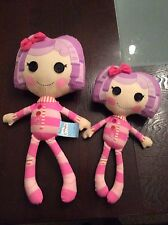 """Lalaloopsy Plush 16"""" Doll  Pillow Featherbed Lot"""