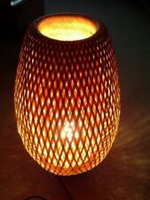 IKEA Rattan/Bamboo Lamp,Table Desk Bedside Floor Light Home Natural home modern