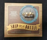 Ship in a Bottle Build the USS Constitution Complete Kit