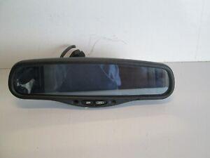 2003-2006 LINCOLN TOWNCAR REAR VIEW MIRROR WINDSHIELD AUTO DIM OEM BLACK