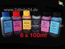 600ml inchiostro refilltinte INK HP 363 130 hp363 6 color x6 120 90 50 30 84 85 hp84