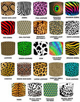 Animal Print Lampshades Ideal To Match Animal Print Bedding Sets & Duvet Covers.