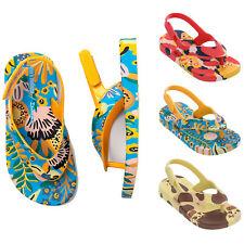 Mini Melissa Baby Sandals Ipanema Flip Flops Slingback Summer Shoes NEW