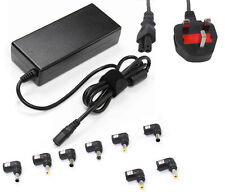 Adattatore caricabatterie universale 90w alimentazione per Laptop 15v 16v 18.5v 19v 19.5v UK