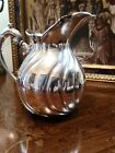 SQUAT CAMUSSO STERLING SILVER WATER PITCHER 12.5 OUNCES..352 GRAMS . HOLDS 48 OZ