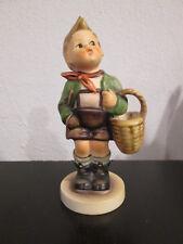 "Vintage Goebel W. Germany Hummel 5"" Village Boy Figurine"