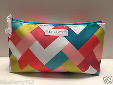 New! Clinique Colorful Geometric Pattern Makeup Bag Design By Tyler Dawson