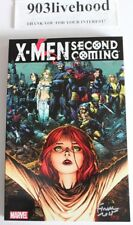 MARVEL COMICS X MEN SECOND COMING TPB TRADE GRAPHIC NOVEL GN VF+++ SIGNED