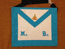 Franc-maçonnerie tablier passé Maître RF - Masonic apron