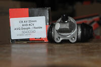 cylindre roue avant d renault 4 cv, avant gauche dauphine floride 22mm 30430060