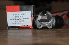 cylindre de roue avant d renault 4 cv, avant gauche  dauphine floride  22mm