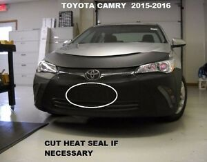 Lebra Front End Mask Cover Bra Fits 2015-2017 Toyota Camry