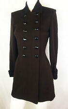 4 CHIC St John Marie Gray Military Riding Goth Style Jacket Coat Equestrian