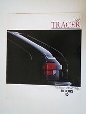 1988 MERCURY TRACER ORIGINAL DEALERSHIP HANDOUT SALES BROCHURE