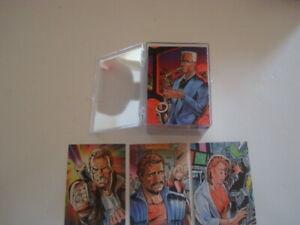 1993 WILLIAM SHATNER'S TEK WORLD BASE 100 CARD SET