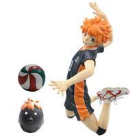 Anime Haikyuu!! No.10 Hinata Shoyo PVC Action Figure Toy 1/8 Scale