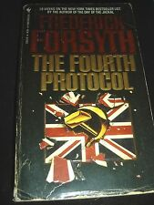 The Fourth Protocol by Frederick Forsyth Bantam Sept 1985 Paperback