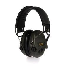 MSA Sordin Supreme Pro X Ear Protection, Foam Cushions, Aux Input, Black Leather