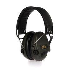 MSA Sordin Supreme Pro X Gehörschutz, Schaumkissen, AUX-Eingang, schwarzes Leder