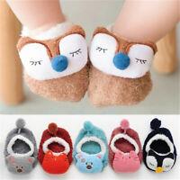 Baby Socks Cotton Floor Socks Infant Crib Shoes Kids Booties Anti Slip Shoes