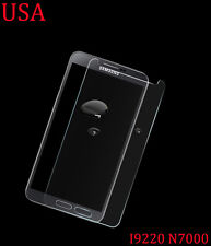 Tempered Glass Protective Screen Protector Film Samsung Galaxy Note i9220 N7000