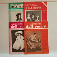 International Doll Revue Magazine Lot of 4 1978 1979 Collecting dollmaking Tub3