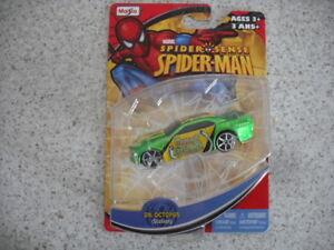 2011 MAISTO MARVEL SPIDER-MAN DIE CAST CAR VEHICLE DR.OCTOPUS STALLION