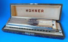 Vintage HOHNER 64 Chromonica 4 Octave Professional Harmonica Mouth Organ
