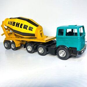UNIQUE Turquois Mercedes Benz Liebherr Cement Mixer Gescha (Conrad) #3050