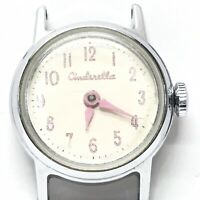 Vintage 1950's US Time Cinderella Chrome Plated Watch