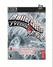 RollerCoaster Tycoon 3 Platinum Steam key PC Game código nuevo global