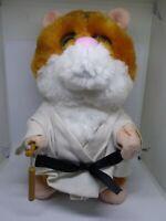 Gemmy Kung Fu Animated Hamster Nun chuck Fighting Dancing Singing & Moves Plush