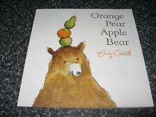 ORANGE PEAR APPLE BEAR BY EMILY GRAVETT B/NEW SOFTCOVER