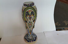 French Faience Pottery Vase  33 cm tall- circa1900