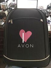 Avon Representative I Heart Avon Luggage Rolling Bag Suitcase